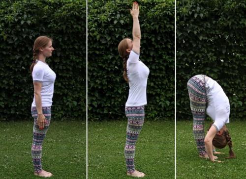 Практика из йоги для живота