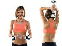 Укрепляем мышцы спины при помощи упражнений с гантелями